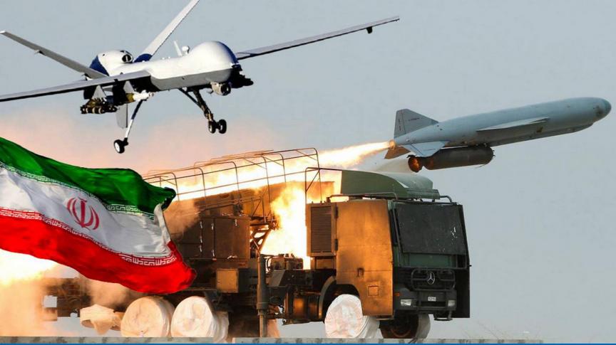 حمله ایران به نیروهای آمریکایی در عراق