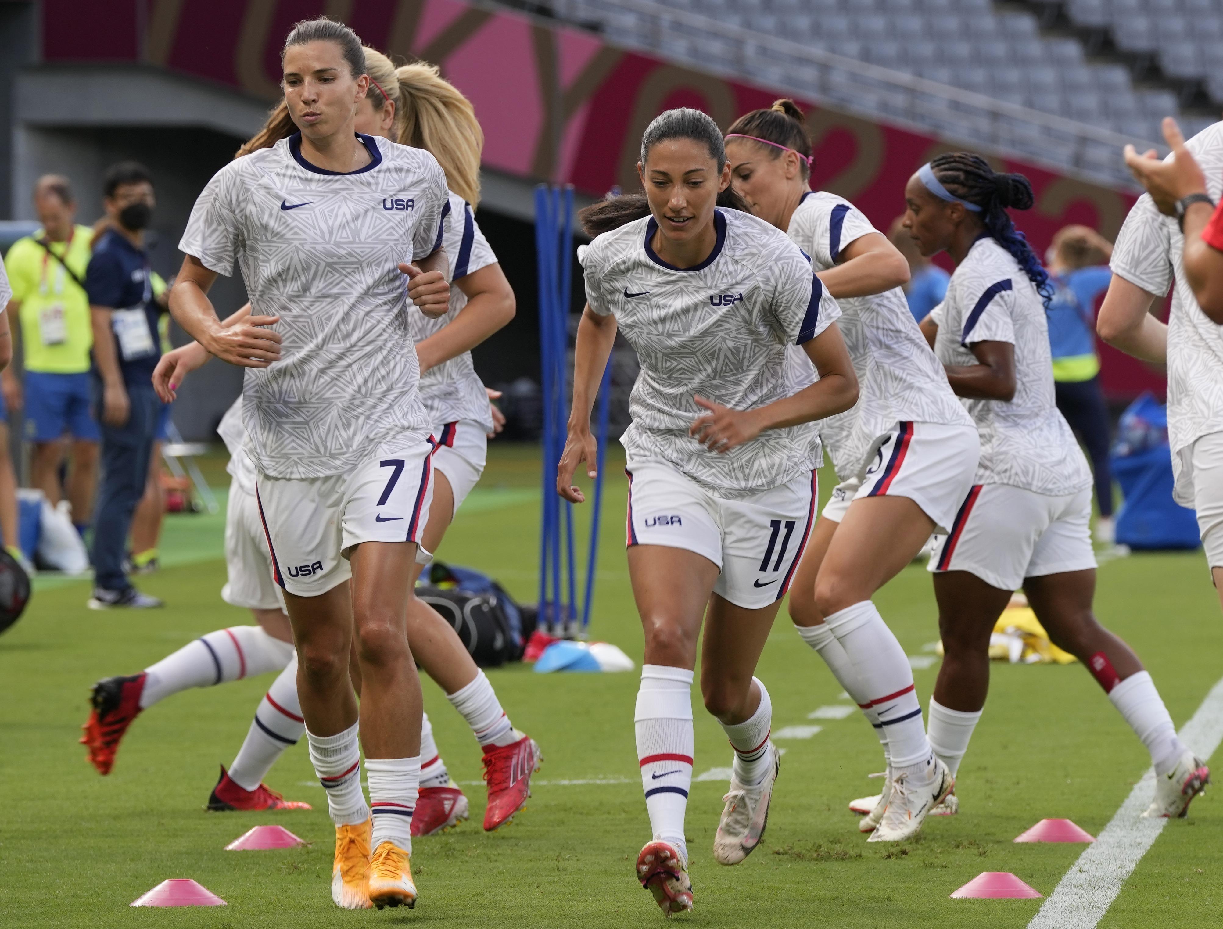عکس های الکس مورگان در توکیو/ دختر فوتبالیست پر طرفدار آمریکایی
